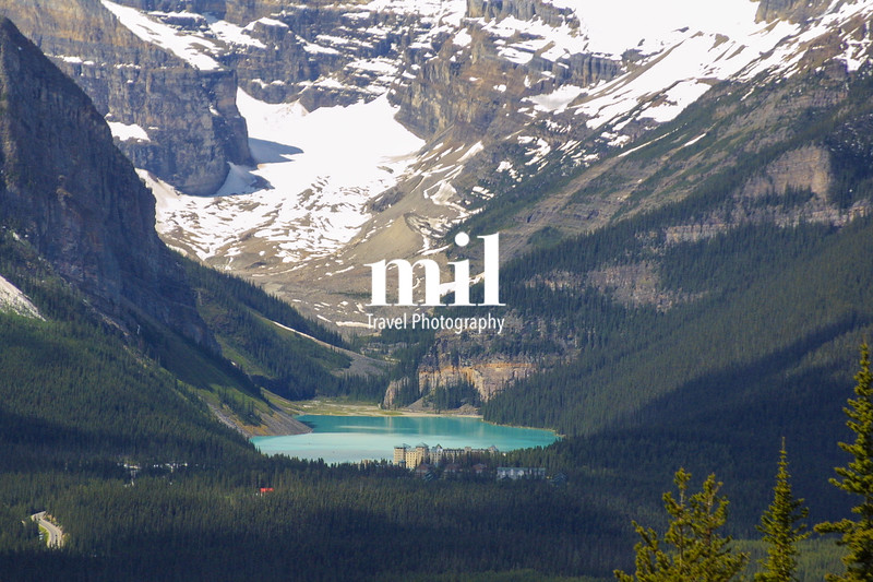 Lake Louise in Banff National Park, Alberta