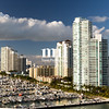 Marina and Condos in Miami