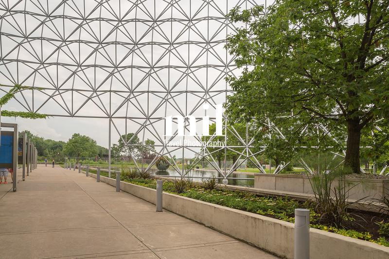 Biosphere in Montreal at Parc Jean-Drapeau, Quebec, Canada