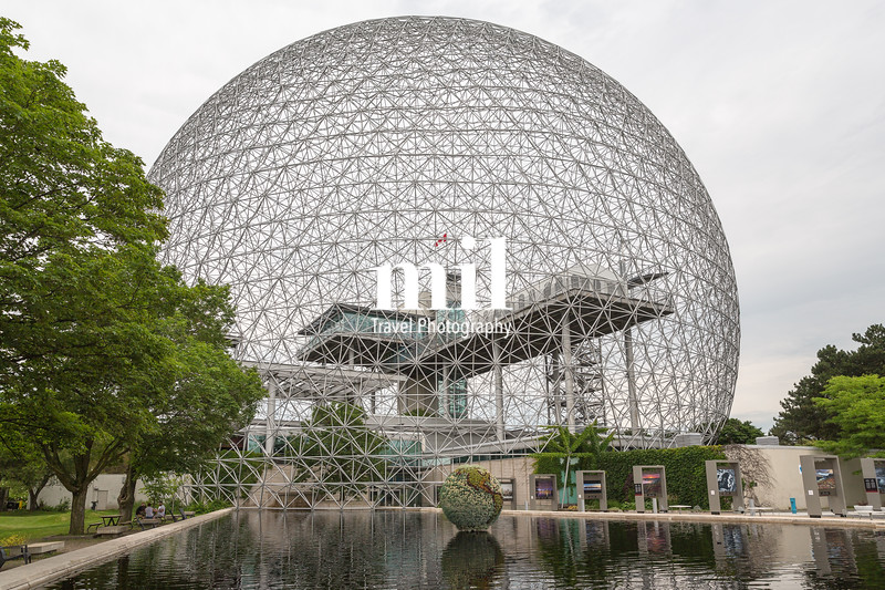 Biosphere in Montreal at Parc Jean-Drapeau, Quebec, Canada