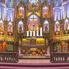 Notre Dame Basilica in Montreal Quebec Canada