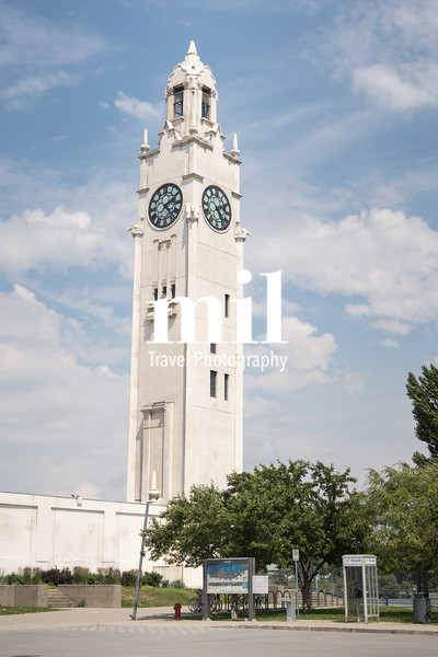 Montreal Clock Tower in the Old Port of Montreal