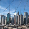 View from the Brooklyn Bridge in 2009