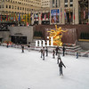 Ice Skating at the Rockefeller Center in NYC
