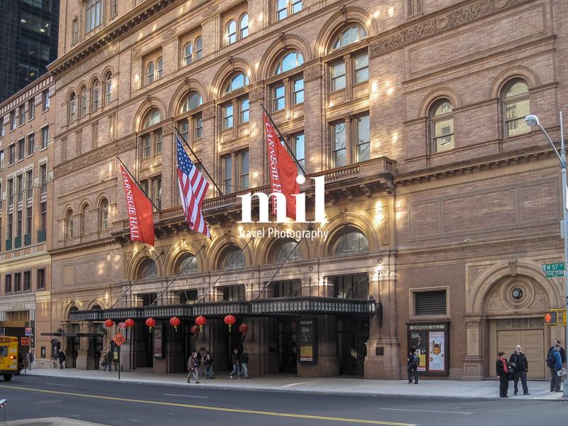 Carnegie Hall in New York City