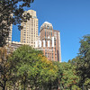 View from Central Park in New York City