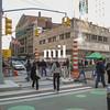 Street Scene corner of Broadway in New York City