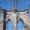 The Brooklyn Bridge in New York City