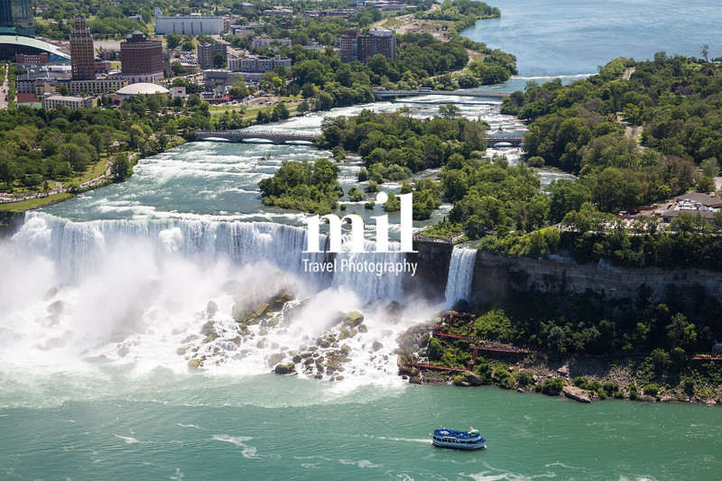 The amazing power of Niagara Falls from the Canadian side