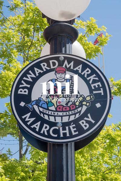The Byward Market area of Ottawa Canada