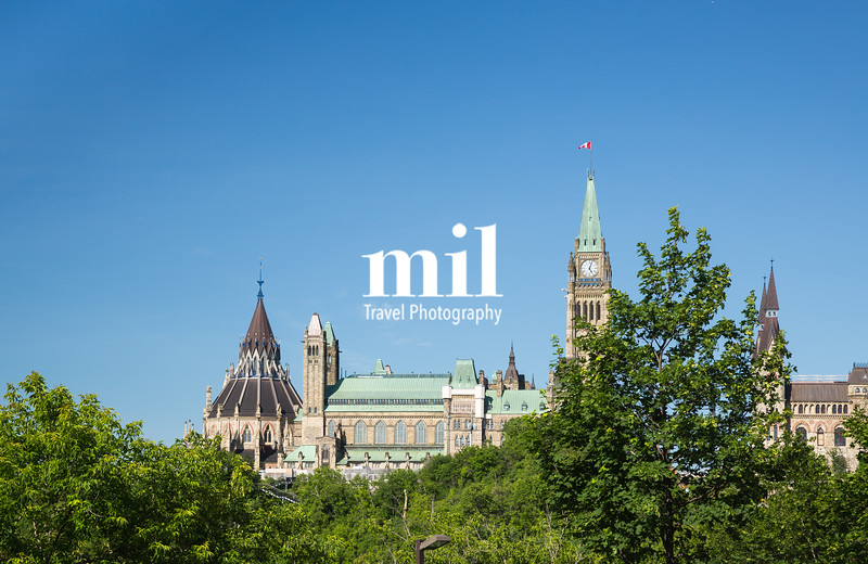 The Buildings and Skyline of Ottawa Ontario