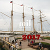 Tall ship in Charlottetown on PEI in Canada