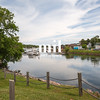 The small harbor of Montague on Prince Edward Island