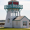 Wooden Lighthouse in Summerside on Prince Edward Island in Canada