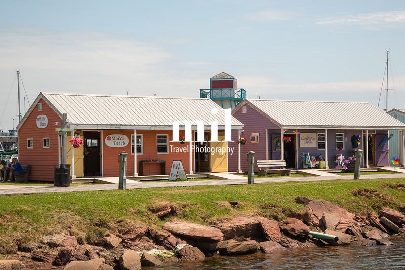 Summerside on Prince Edward Island in Canada