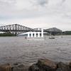 Quebec Bridge - longest cantilever bridge in the world.