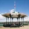 An old boardwalk bandstand of Quebec City