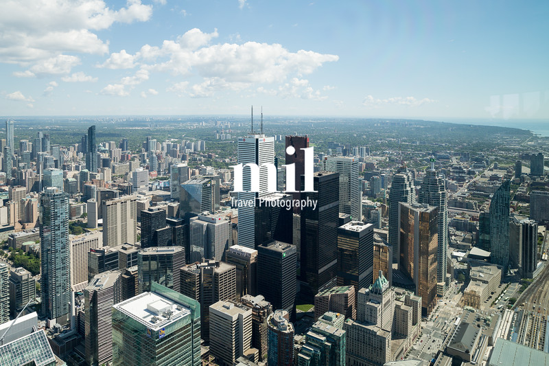 View from the Tower in Toronto Ontario