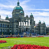 Government buildings in Victoria Vancouver Island