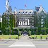 Main hotel in Victoria Vancouver Island