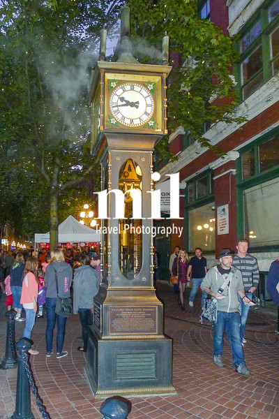 The old gas clock in gastown Vancouver