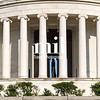 Jefferson Memorial with Thomas Jefferson in view