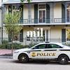 Police Car near the White House in DV