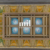 The ceiling inside the Library of Congress