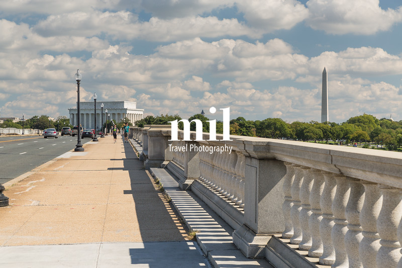 View across the bridge near Arlington