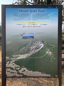 Mount Scott trailhead, highest point in the park