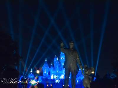 Travel: Disneyland Fireworks 8-27-2015