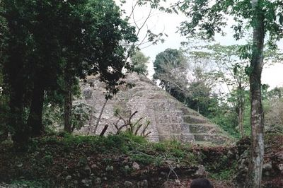 Lamanai Temple, center of a Mayan settlement from 1500 B.C. to A.D. 1700