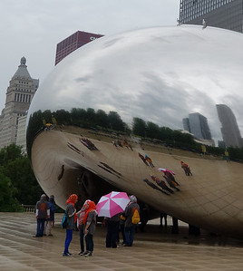 Cloud Gate sculpture at Millennium Park