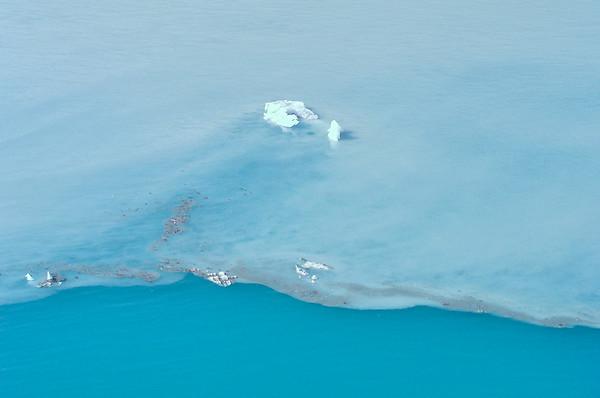 Glacial water line