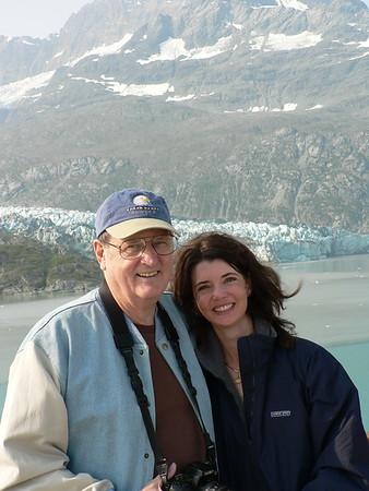 Dad & Stacey at Sawyer Glacier