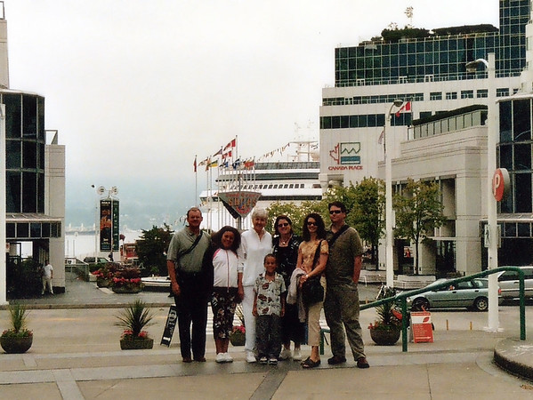 The adventure begins – Kimseys, Culvers, and Janiks in Vancouver