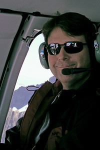 Helicopter ride out of Juneau