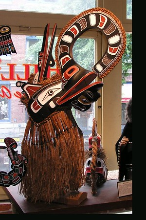 Native art gallery in Vancouver