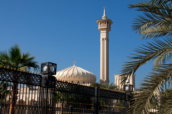 The Grand Mosque in Bur Dubai