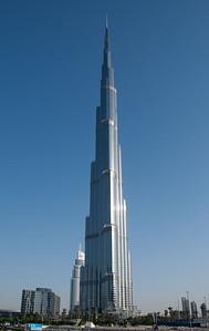 World's tallest building, the Burj Khalifa