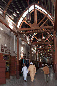 "We enjoyed exploring the ""old"" city of Dubai, where lively trade was underway at the fabric souk, spice souk, and gold souk"