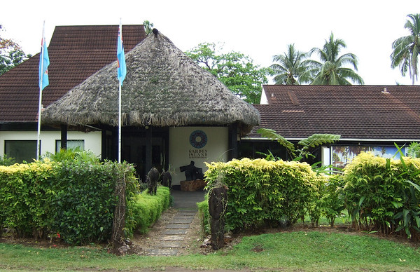 Our home for the week, Garden Island Resort on Taveuni