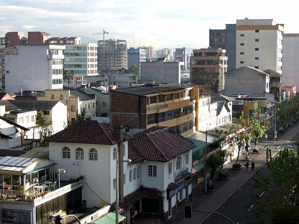 Downtown Quito