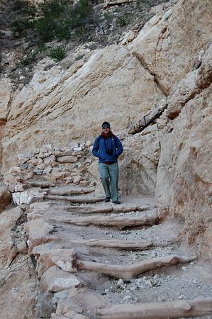 Heading down South Kaibab Trail