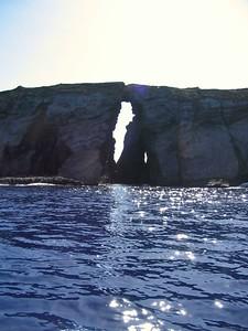 Lava arch at Niihau