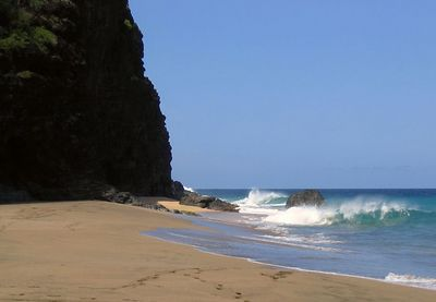 Kalalau Beach, our turnaround point