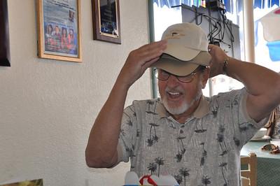 A father who wears many hats...
