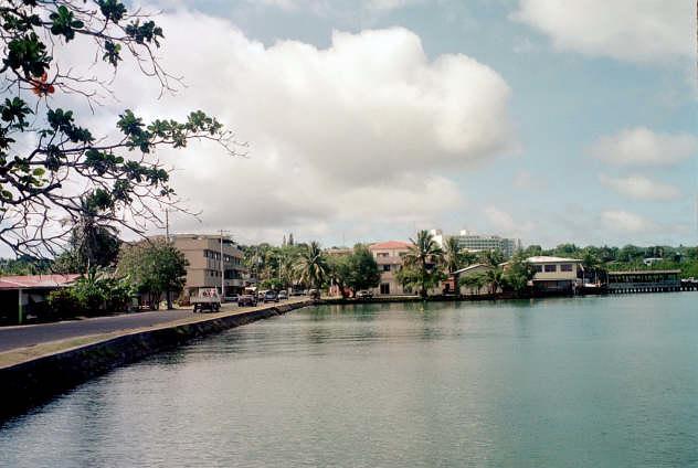 Downtown Koror