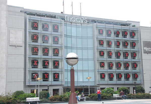 It's not Thanksgiving yet, but Macy's is ready for Christmas