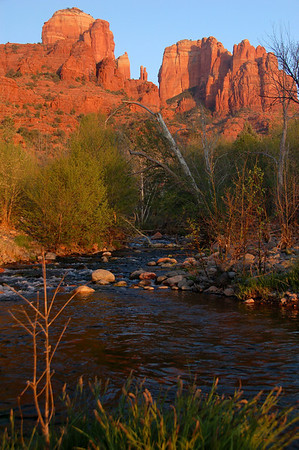 Sunset at Red Rock Crossing